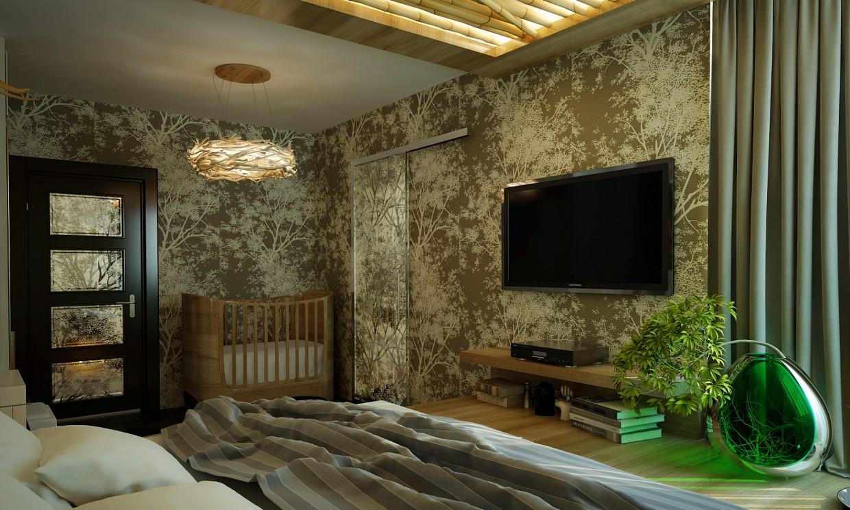 imagen de Apartamentos con diseño ecológico en 3d max vray