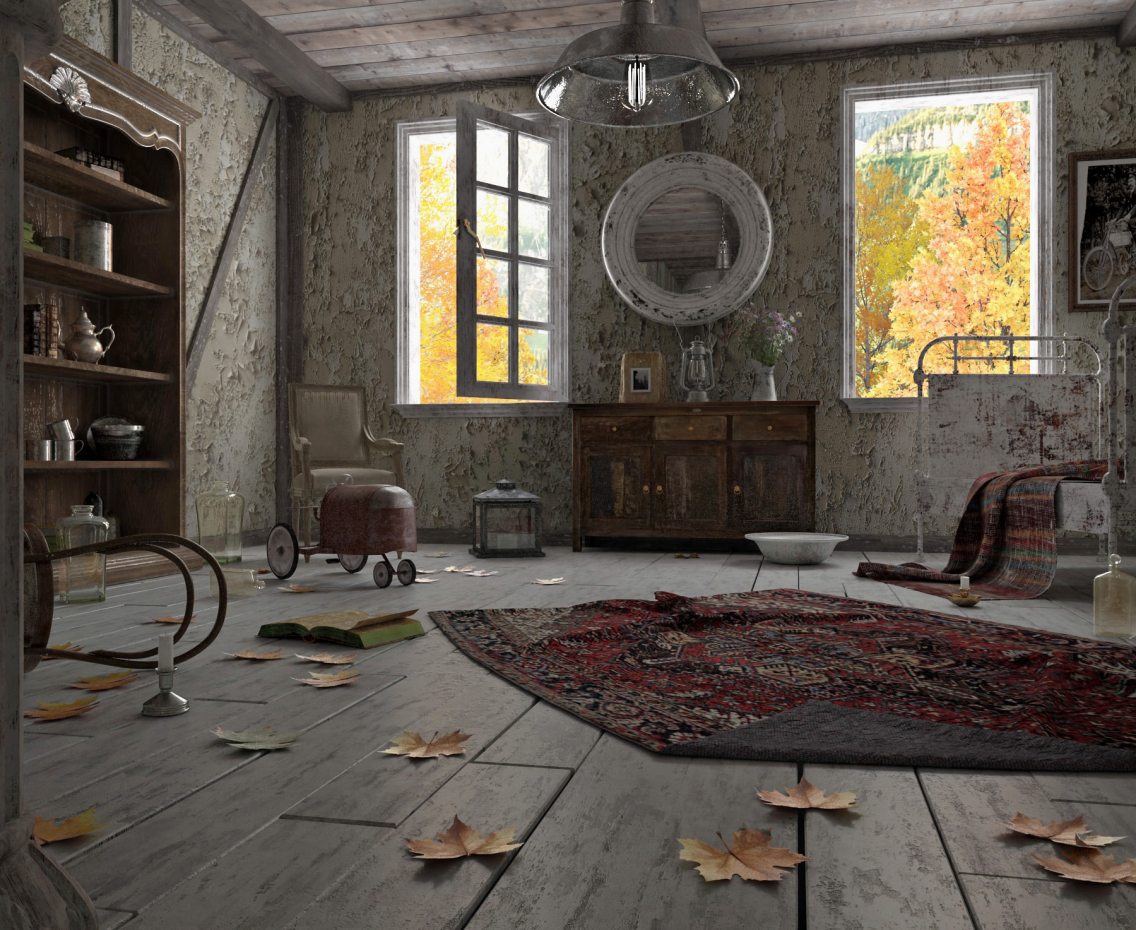 Room in 3d max vray 3.0 image