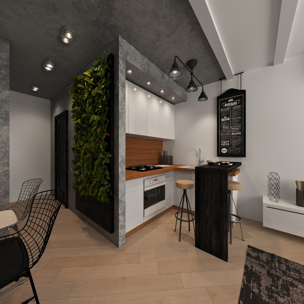 Training project in 3d max corona render image