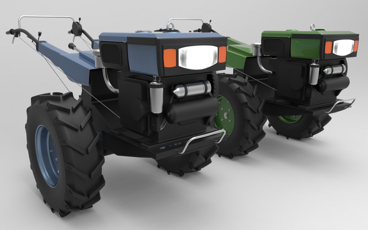 Motoblock Centaur in 3d max Other image