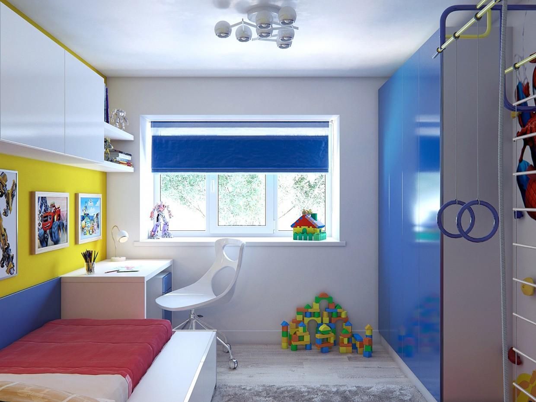imagen de  Cuarto de los niños  en  3d max   corona render
