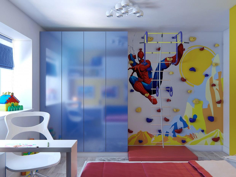 Children's room in 3d max corona render image