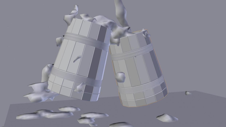 Пивнушка в 3d max vray изображение