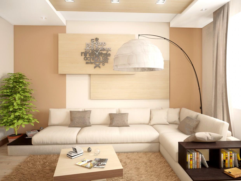 imagen de Sala de estar moderna en 3d max vray