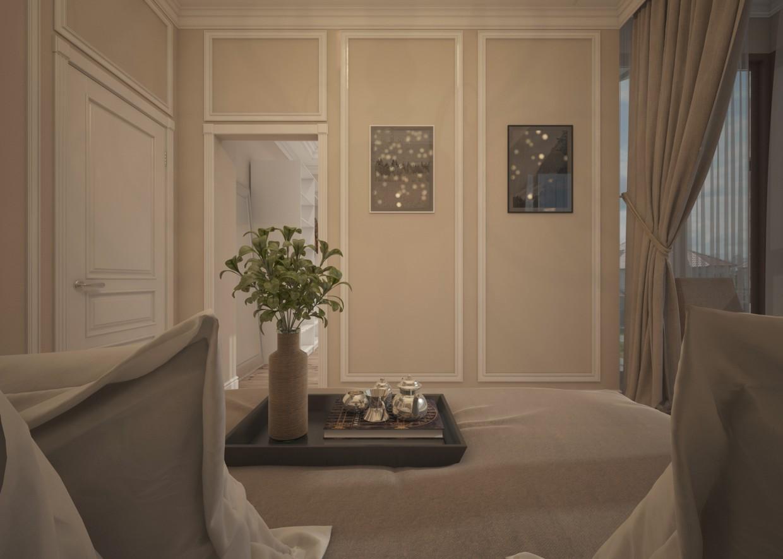 Спальня в 3d max vray 3.0 зображення
