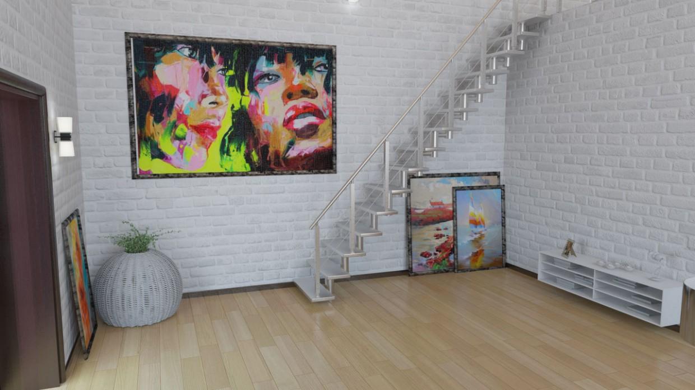 Loft в 3d max vray изображение