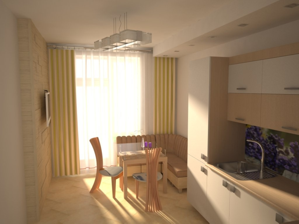 3d visualization of the project in the Good morning (: 3d max, render vray of Vaiser