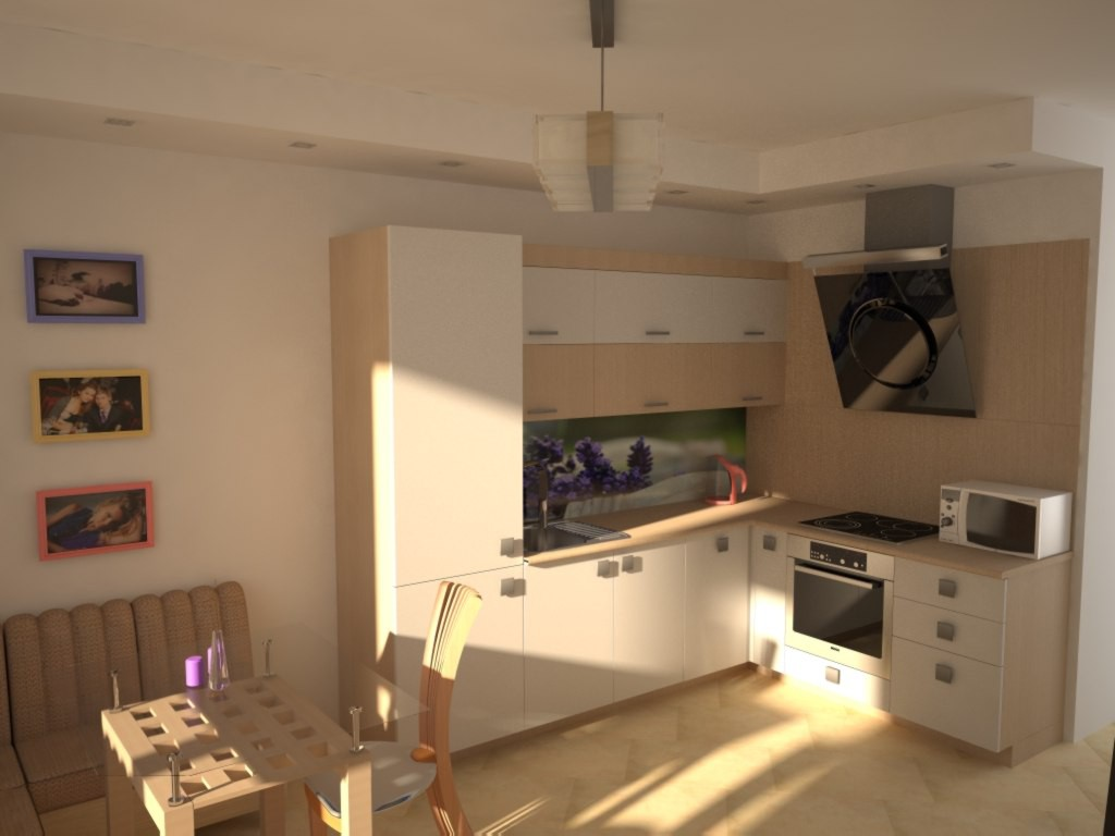 Good morning (: in 3d max vray image