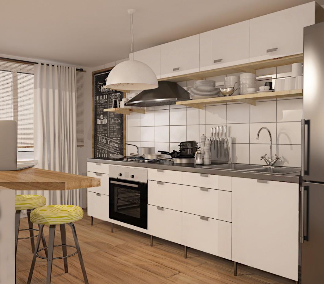 imagen de Apartamento de estudio en 3d max vray 3.0