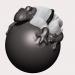 जिउ जटिसु मेंढक ZBrush vray 3.0 में प्रस्तुत छवि