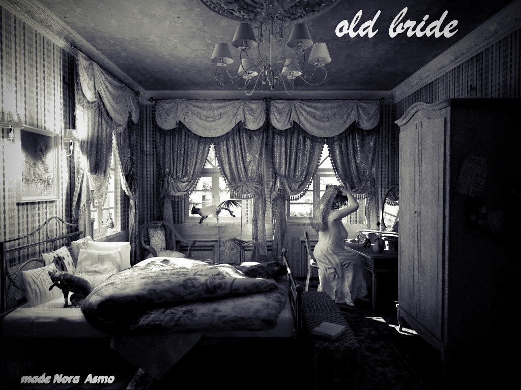 "3d visualization of the project in the ""old bride"" Cinema 4d, render vray of elementa"