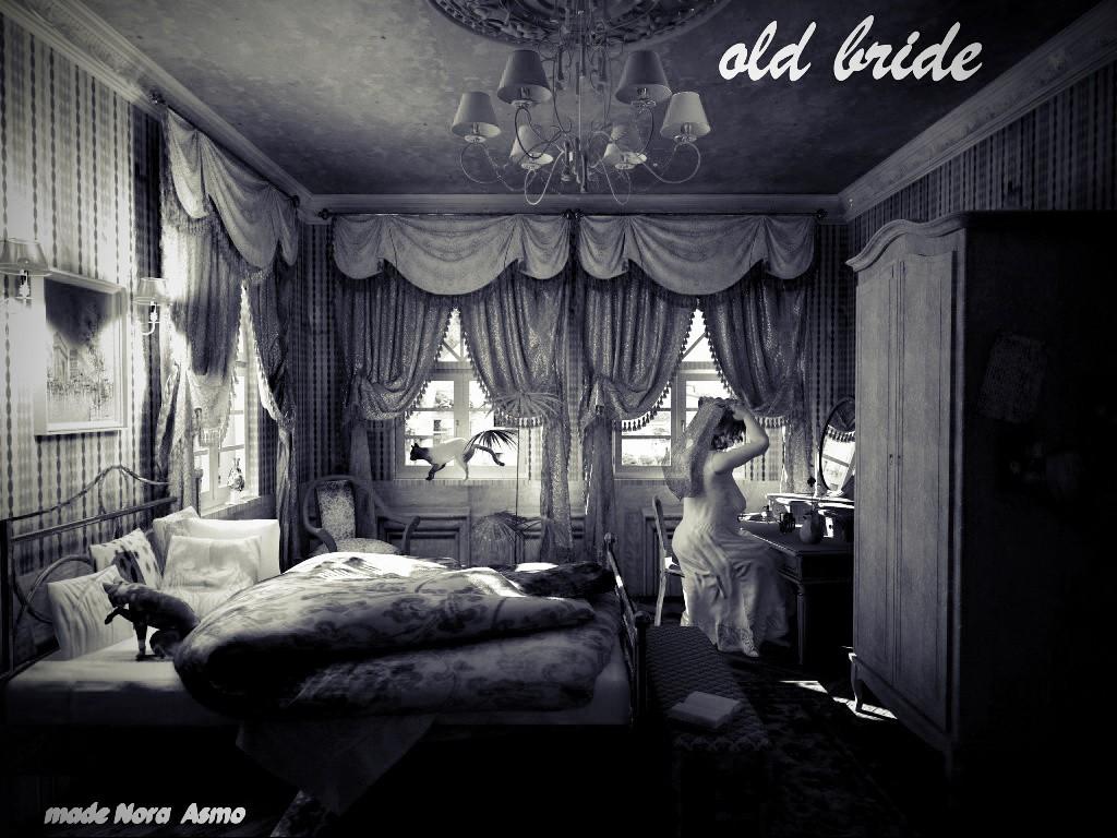 """""""old bride""""  ( """"Старая невеста"""") в Cinema 4d vray изображение"""