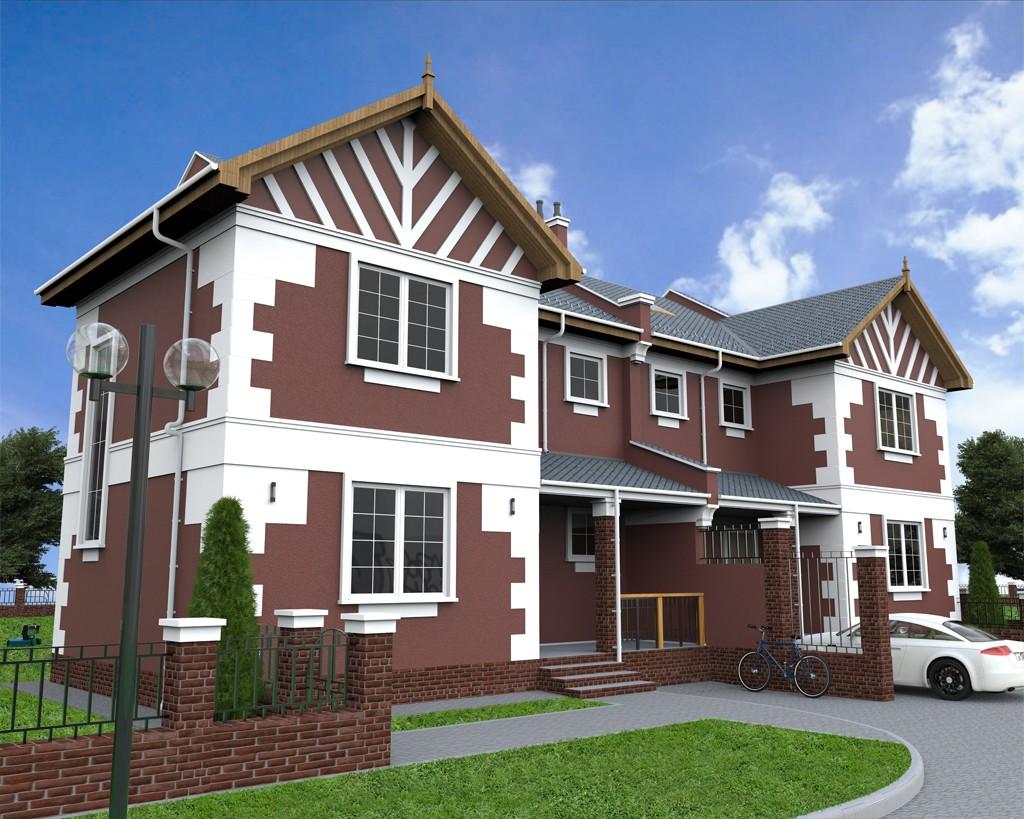 Дом в 3d max Other изображение