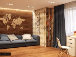 CHILDREN ROOM (design & visualization)