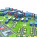 visualización 3D del proyecto en el Mis obras 3d max render vray Илья потянка
