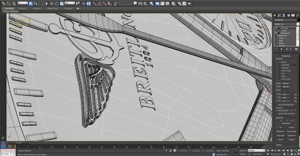 imagen de Breitling en 3d max mental ray