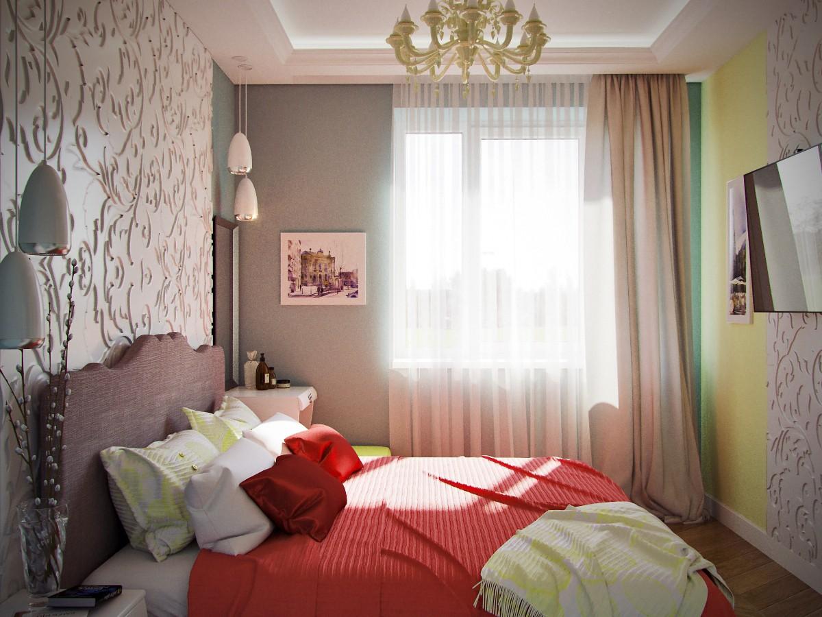 Bedroom в 3d max corona render изображение