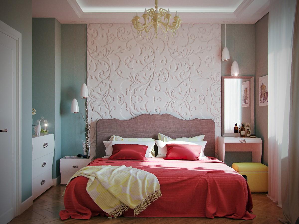 Bedroom в 3d max corona render зображення