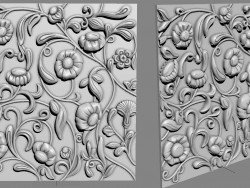 Bas-relief for furniture