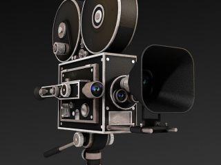 Моделирование старинной камеры в 3ds max