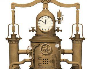 Моделирование декоративных часов в 3ds max часть #1