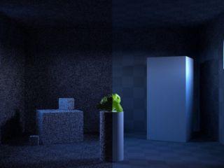 Использование порталов при освещении для сокращения времени рендера в Blender