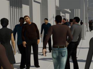 Как создать толпу в 3ds Max