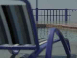 Использование эффекта камеры Depth-of-Field (Глубина резкости) в 3ds Max