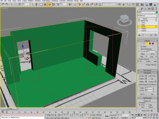Creating interior using 3ds max