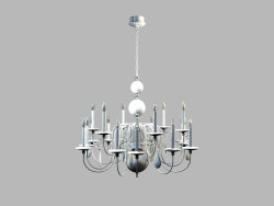 Chandelier Regina MD 8048-18A white