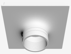 Recessed gypsum LED light (DL241G1)