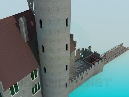 3d model Castle - preview