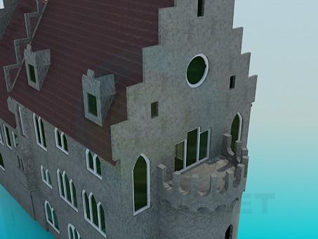 modelo 3D Castillo - escuchar