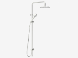 Shower set Rexx Shower System S5 (steel)
