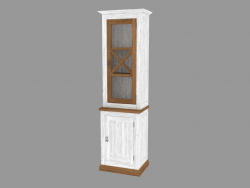 Витрина 1-но дверная 1D (PRO.020.XX 60x204x42cm)