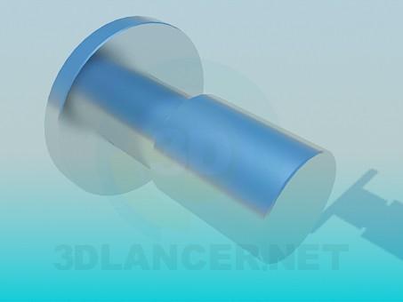 3d модель Вешалка для полотенец – превью