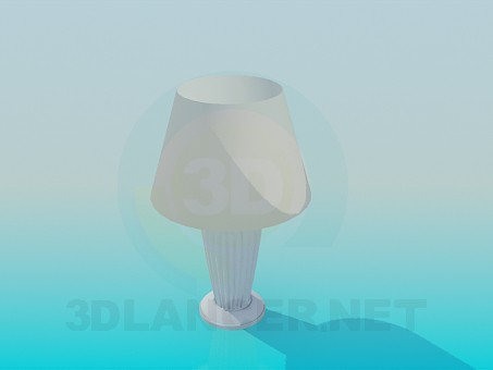 3d model Floor lamp table - preview