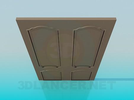 3d моделювання Широка двері модель завантажити безкоштовно