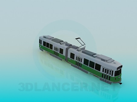 modelo 3D Tranvía - escuchar