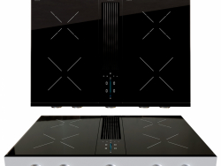 BORA Pro induction hob with integrated cooker hood