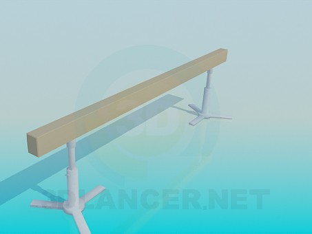 3d modeling Beam Balance model free download