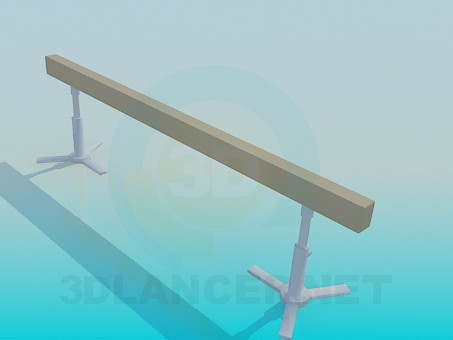3d модель Спортивный снаряд – превью