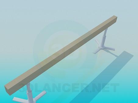 3d model Beam Balance - preview