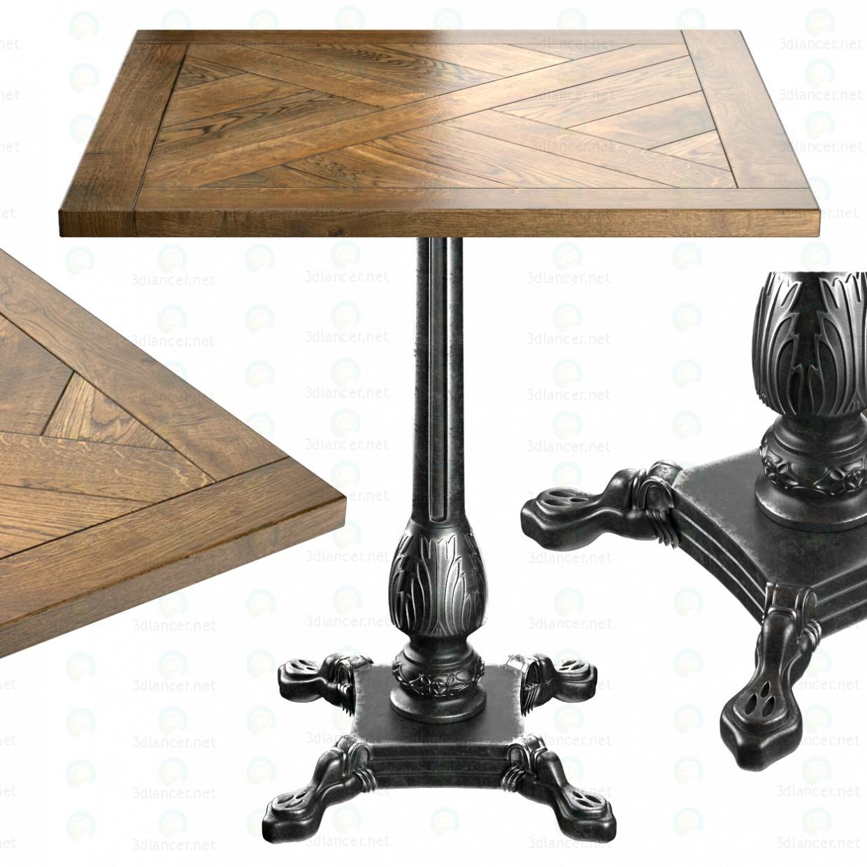 3d Table Manor House model buy - render