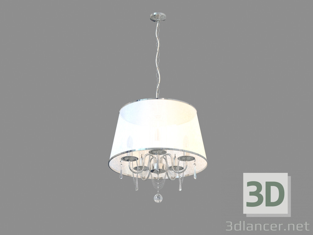 3d modell kronleuchter a1487sp 5cc vom hersteller arte for Lampen 3d modelle