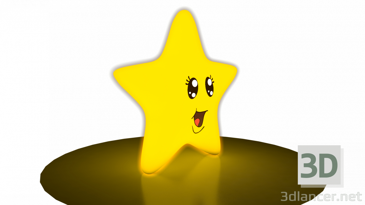 3d Star Model / Star model buy - render