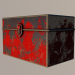3d Old box model buy - render