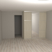 3d Mirror wardrobe system Modus model buy - render