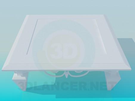 3d модель Cтол – превью