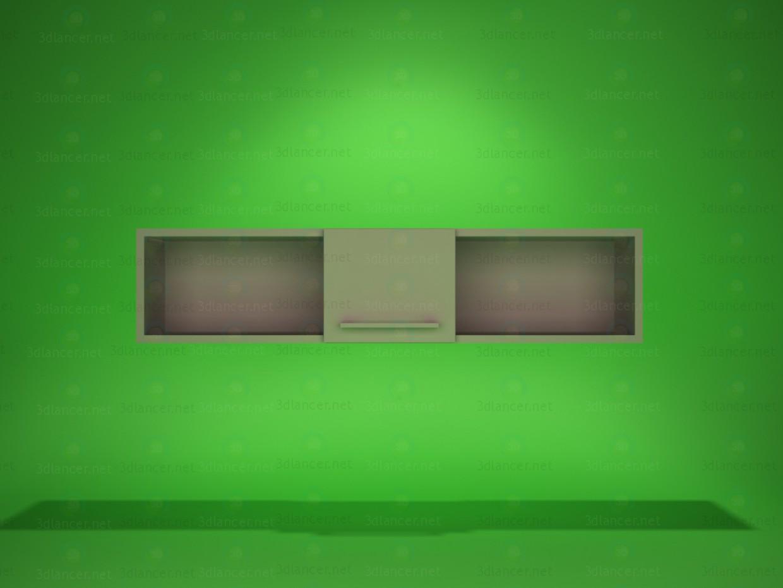 3d model Wall shelf 3 - preview